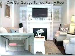 how to convert a garage into bedroom two car