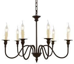 6 light candle chandelier industrial chandeliers lnc home candle chandelier