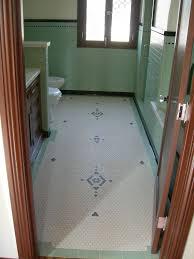 hex bathroom tiles vintage bathroom floor design