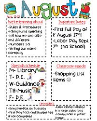 Class Newsletter Classroom Newsletter Freebie Kickin It In Kindergarten