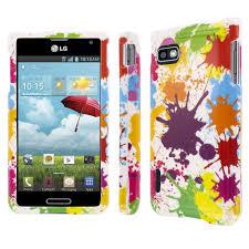 LG Optimus F3 Full Coverage White Paint ...