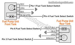 part 1 1993 fuel pump circuit tests (ford 4 9l, 5 0l, 5 8l) 1994 ford f150 fuel pump wiring diagram at 1996 F150 Gas Tank Wiring Harness
