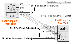 1992 ford f150 wiring diagram for the radio fuel pump units wiring diagram dual tank (1992 1993 ford f150, f250