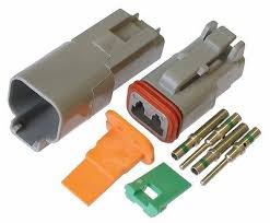 deutsch dt series 2 pin connector kit 16 20 awg • 10 50 picclick 100 pack deutsch dt 2 pin connector kit 16