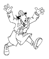 Inspector Gadget Penny Coloring Pages Print Coloring