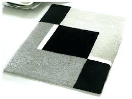 black bathroom rug set home piece sets red and