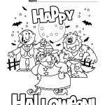 Happy Halloween Coloring Pages Marque Happy Halloween Coloring Page