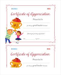 Certificate Of Appreciation Free Download Certificate Of Appreciation 14 Free Pdf Ppt Documents Download