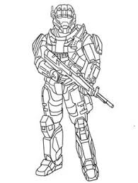 Small Picture Halo Odst Coloring Coloring Coloring Pages