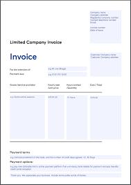 Company Invoice Invoicing Templates