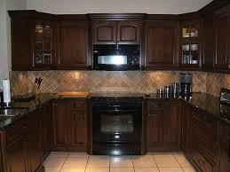 Small Dark Kitchen Design Small Dark Brown Kitchen Quicuacom