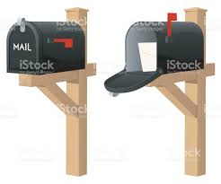 closed mailbox. Open And Closed Mailbox Vector Image Royalty-free Stock