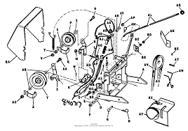 Mtd snowblower parts diagram new simplicity 36 quot rotary snow blower attachment parts