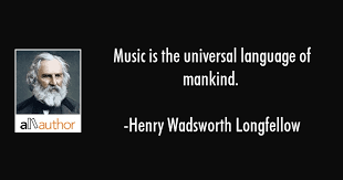 Quotes About Music Beauteous Music Is The Universal Language Of Mankind Quote