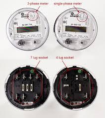 monitoring to ge kv2c meters 3 phase meter
