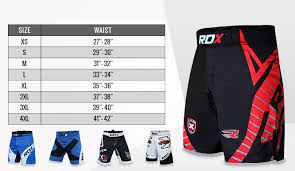 Cage Fighter Shorts Size Chart Rdx Mma Gloves Size Chart Bedowntowndaytona Com