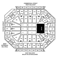 Dcu Center Seating Chart For Concerts Detailed Dcu Center Virtual Seating 2019