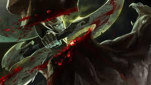 photo dota 2 phantom assassin mortred battle axes warriors blood