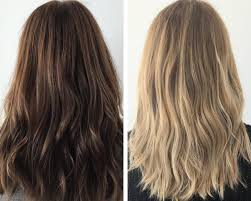 I Went From Brunette To Blonde Without Bleach Heres How