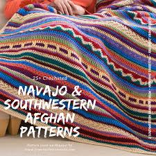Free Crochet Blanket Patterns Custom Southwestern Style Crochet Blanket Patterns Navajo Afghan Patterns