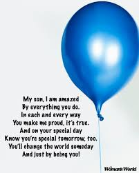 Happy Birthday Son Poems From Mom To Make His Day Special Womans