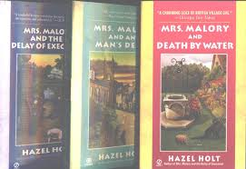 """Hazel Holt 3 Book Set """"Mrs. Malory and the Delay of Execution"""", """"Mrs.  Malory and Death By Water"""" and """" Mrs. Malory and Any Man's Death"""" (Mrs.  Sheila Malory Mysteries): Amazon.com: Books"""