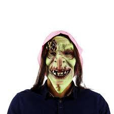 For Carnaval Easter Halloween Scary Zombie <b>Latex Mask</b> Silicone ...