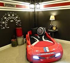 racecar bedroom set race car bed design with us furniture home accents by room and toddler