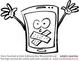 Handy Ausschalten Stumm Still Agnes Live Karikaturen