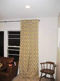 Hidden Tab Curtains Sewing Curtains With A Hidden Tab Top Fiscally Chic
