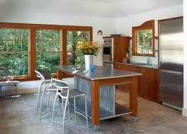 Stainless Steel Mobile Kitchen Island Home Furniture