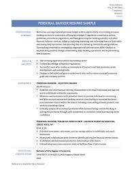 Personal Banker Resumes banker job resumes Ninjaturtletechrepairsco 1