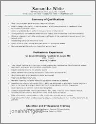Back Office Medical Assistant Resume Examples Unique Medical