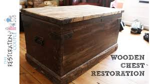 vintage wooden trunk awesome com household essentials 9502 1 wood storage as well 4
