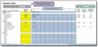 Budget Excel Excel Monthly Cash Flow Budget Spreadsheet Based Upon Dave