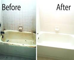 tile reglazing colors bathtub a before after picture of a mesa bathtub refinished by our team