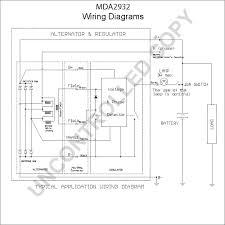 mda2932 alternator product details prestolite leece neville mda2932 wiring diagram