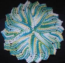 Easy Knit Dishcloth Pattern Custom JanelWasHere Knit Round Dishcloth