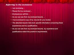 Job Application Letter Ppt Download