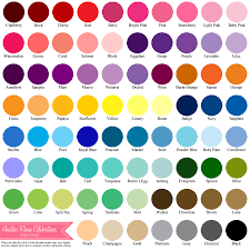 Coral Paint Color Chart Color Samples Names Printablesamplesprintable Coloring Pages