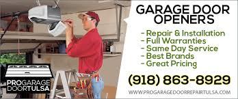 garage door repair tulsaGarage Door Openers Tulsa OK  Repair  Install