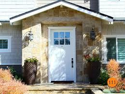 8 foot tall 42 inch wide fiberglass craftsman entry door 42 x96