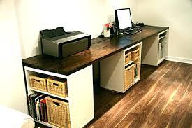 office desk with shelf large desk with three storage shelves office desk shelf