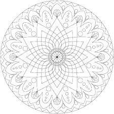 Mandalas Coloring Pages Free Printable Mandala Printable Coloring
