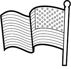 American Flag Printout The Flag Coloring Page Us Flag Coloring Page
