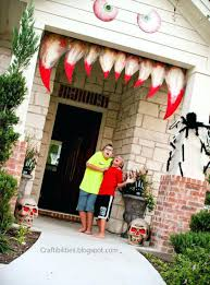 halloween door decorating ideas. Halloween Door Decoration Ideas Monster Teeth Decorations Decorating