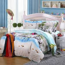 image of coastal hawaiian bedspreads