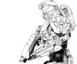 Small Picture Halo 4 Master Chief Action Yumiko Fujiwara