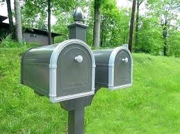 double mailbox post. Double Mailbox Post. Perfect Post Ideas Capitol Mailboxes To