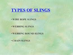 Presentation On Slings